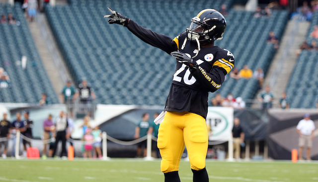 Le'veon Bell makes up for lost time. Photo courtesy of CBS.