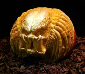 Jack-O-Lanterns were originally carved out of turnips and gourds, and in Celtic practices were used to welcome their ancestors. (Photo courtesy of http://Bit.Ly/10VWVKL)