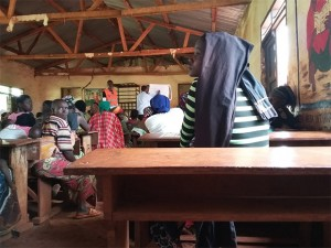 Refugees were at a training course hosted by Church World Services in Tanzania. Photo courtesy of Church World Services.