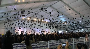 Students will be celebrating the momentous occasion of their graduations from college soon, with only a few weeks remaining in the Spring semester. (Photo courtesy of Wikipedia)