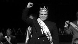 Nate Heater won Mr. Millersville as the representative for SOLA. Photo courtesy of Phil J. Romansky, Jr.