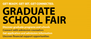 The ELCM will host a Graduate School Fair, a unique opportunty for prospective grad students to get more information on specific programs.