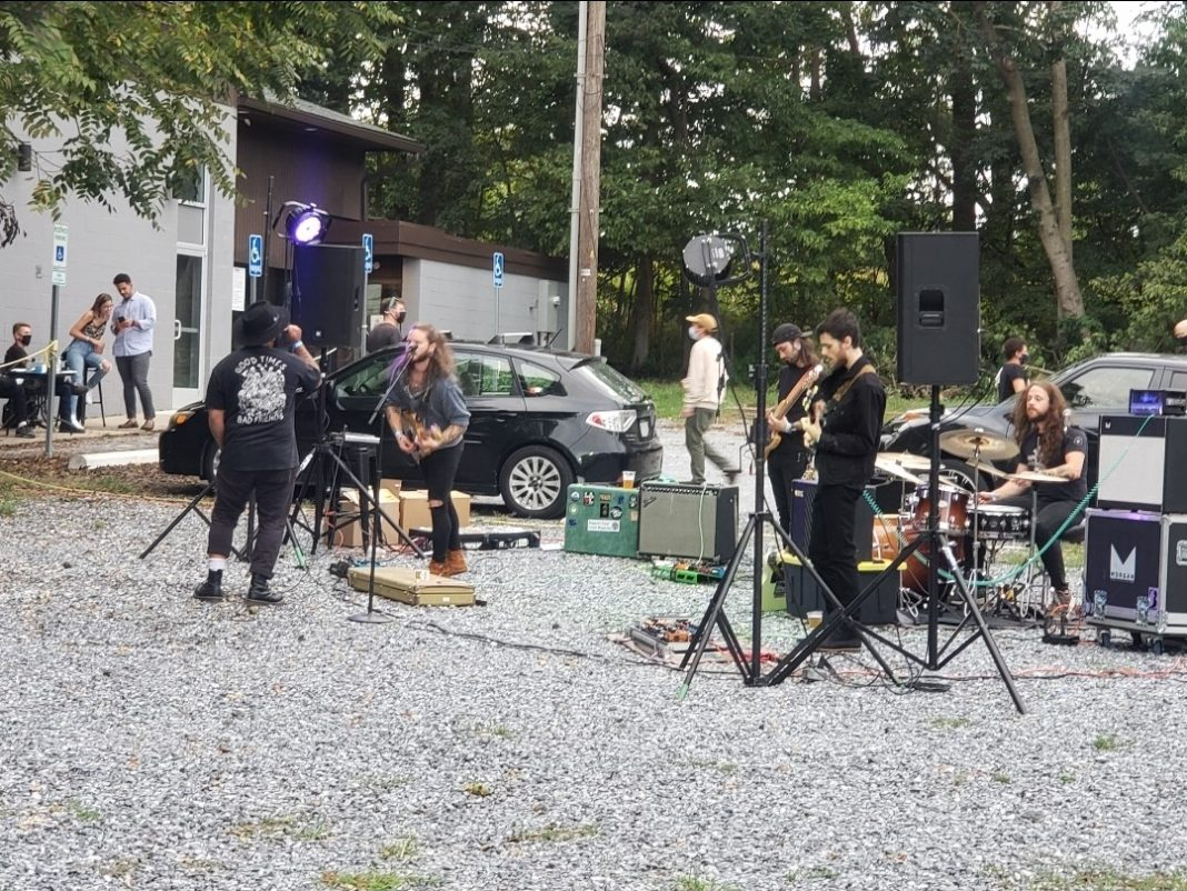 Lancaster based group, The Stonewall Vessels, perform at Phantom Power on Sept. 12. (All photos courtesy of Hannah Sutton, Snapper Staff Writer.)